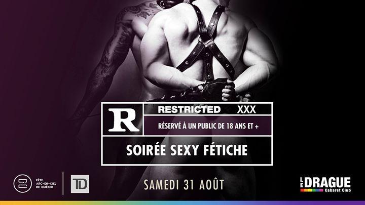 Soirée fétiche Restricted / Fête Arc-en-ciel de Québec em Quebec le sáb, 31 agosto 2019 23:00-03:00 (Show Gay)