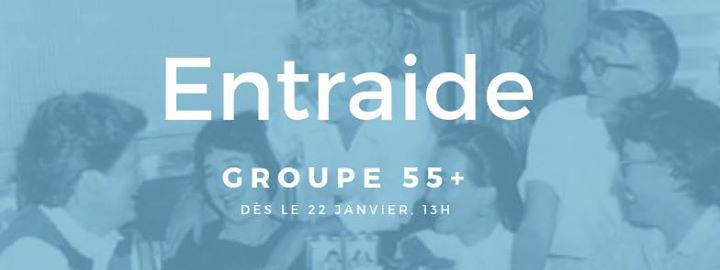 Groupe d'entraide 55 + in Montreal le Tue, May 14, 2019 from 01:30 pm to 03:30 pm (Meetings / Discussions Lesbian)