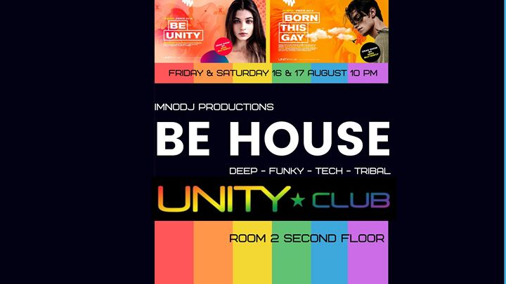 Be House - edition fierté 1 in Montreal le Fr 16. August, 2019 22.00 bis 03.00 (Clubbing Gay)