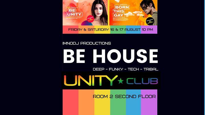 Be House - edition fierté 1 à Montréal le ven. 16 août 2019 de 22h00 à 03h00 (Clubbing Gay)