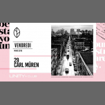 Carl Müren ★ UNITY in Montreal le Fri, March 29, 2019 from 10:00 pm to 03:00 am (Clubbing Gay)