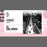 Carl Müren ★ UNITY in Montreal le Fr 29. März, 2019 22.00 bis 03.00 (Clubbing Gay)