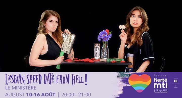 Festival Fierté Montréal - Lesbian Speed Date From Hell! in Montreal le Sun, August 11, 2019 from 07:00 pm to 08:00 pm (After-Work Lesbian)