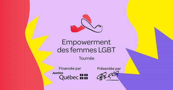 Formation en empowerment des femmes LGBT - Québec in Quebec le Wed, November 20, 2019 from 01:00 pm to 05:00 pm (Workshop Lesbian)