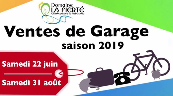 Vente de Garage DLF in Sainte-Julienne le Sat, August 31, 2019 at 08:00 am (Festival Gay, Bear)
