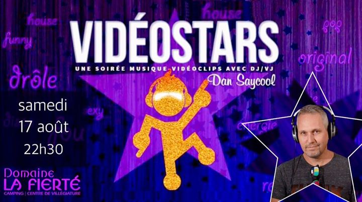 VidéoStars DLF in Sainte-Julienne le Sat, August 17, 2019 at 10:30 pm (Clubbing Gay, Bear)