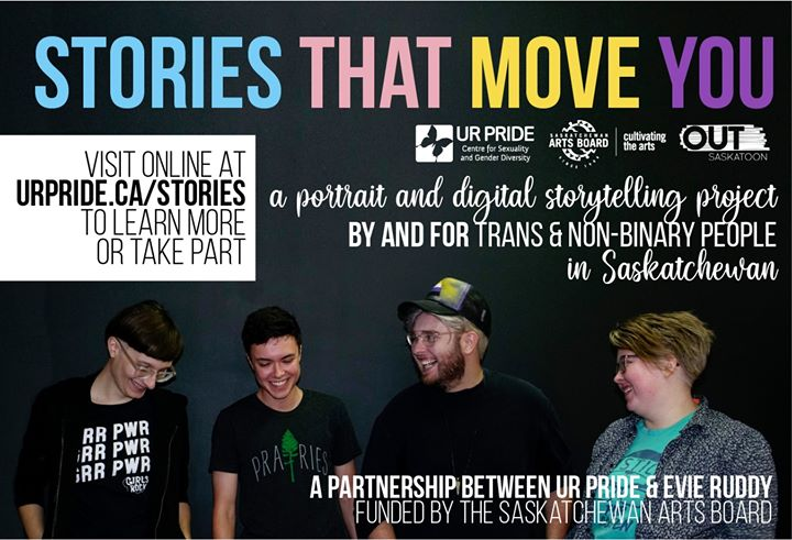Stories That Move You (SASKATOON) in Saskatoon le Sa 23. November, 2019 13.00 bis 16.00 (Begegnungen Gay, Lesbierin)