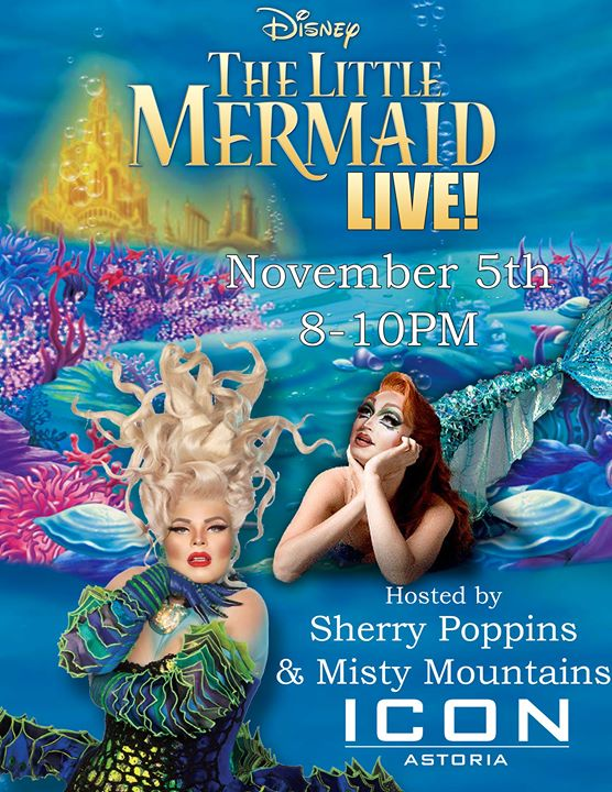 The Little Mermaid LIVE! Viewing Party a New York le mar  5 novembre 2019 20:00-23:00 (After-work Gay)