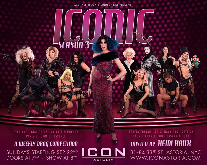 Iconic Week 6: Phobias a New York le dom 27 ottobre 2019 19:00-23:30 (After-work Gay)