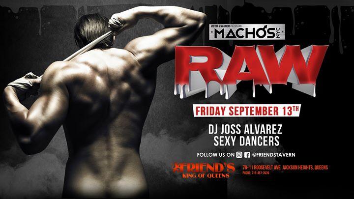 Machos NYC: RAW a New York le ven 13 settembre 2019 22:00-04:00 (Clubbing Gay)