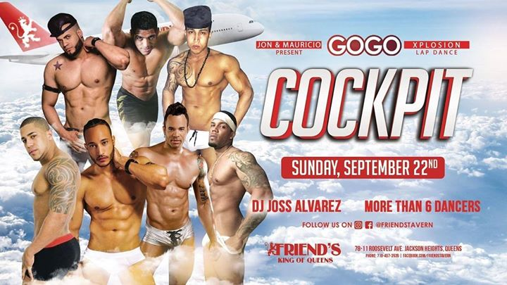 GoGo Explosion 13: Cockpit a New York le dom 22 settembre 2019 22:00-04:00 (Clubbing Gay)