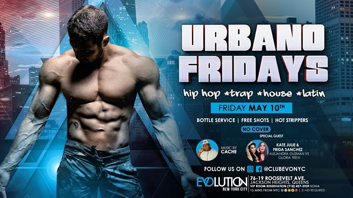 Urbano Fridays (NO COVER) à New York le ven.  6 décembre 2019 de 23h00 à 04h00 (Clubbing Gay)