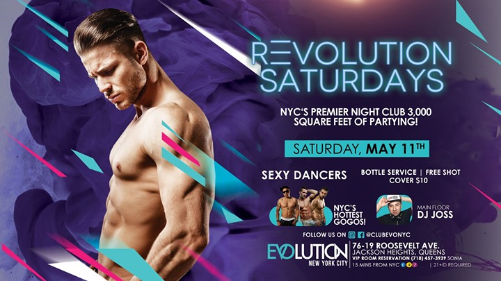 REvolution Saturdays a New York le sab 22 giugno 2019 23:00-04:00 (Clubbing Gay)