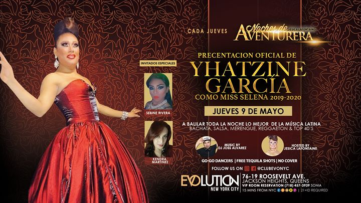 Noches De Aventurera (Todos Los Jueves) in New York le Thu, July 11, 2019 from 11:00 pm to 04:00 am (Clubbing Gay)