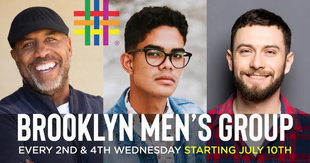 Brooklyn Men's Group a New York le mer 24 luglio 2019 18:30-19:30 (Incontri / Dibatti Gay, Lesbica, Trans, Bi)