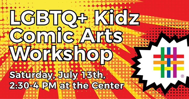 Kidz Comic Art Workshop à New York le sam. 13 juillet 2019 de 14h30 à 16h00 (Atelier Gay, Lesbienne, Trans, Bi)