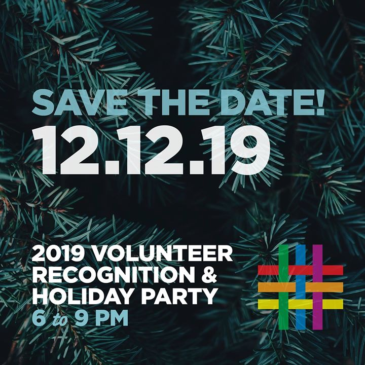 2019 Volunteer Recognition & Holiday Party in New York le Thu, December 12, 2019 from 06:00 pm to 09:00 pm (Meetings / Discussions Gay, Lesbian, Trans, Bi)