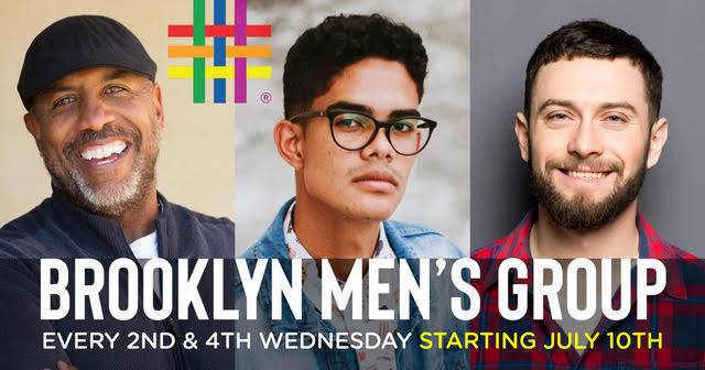 Brooklyn Men's Group in New York le Wed, September 18, 2019 from 06:30 pm to 07:30 pm (Meetings / Discussions Gay, Lesbian, Trans, Bi)