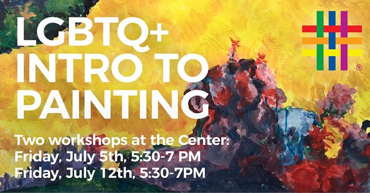 Intro to Painting - Workshop 2 à New York le ven. 12 juillet 2019 de 17h30 à 19h00 (Atelier Gay, Lesbienne, Trans, Bi)