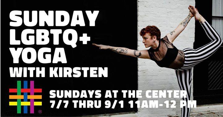 Sunday Yoga Classes a New York le dom 21 luglio 2019 11:00-12:00 (Laboratorio Gay, Lesbica, Trans, Bi)