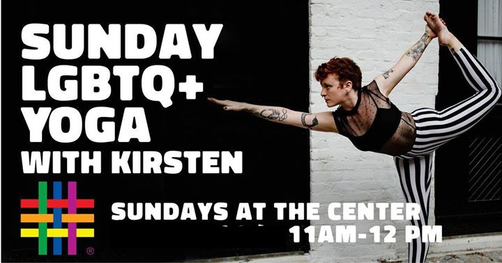 Sunday Lgtbq+ Yoga with Kirsten a New York le dom 17 novembre 2019 11:00-12:00 (Laboratorio Gay, Lesbica, Trans, Bi)