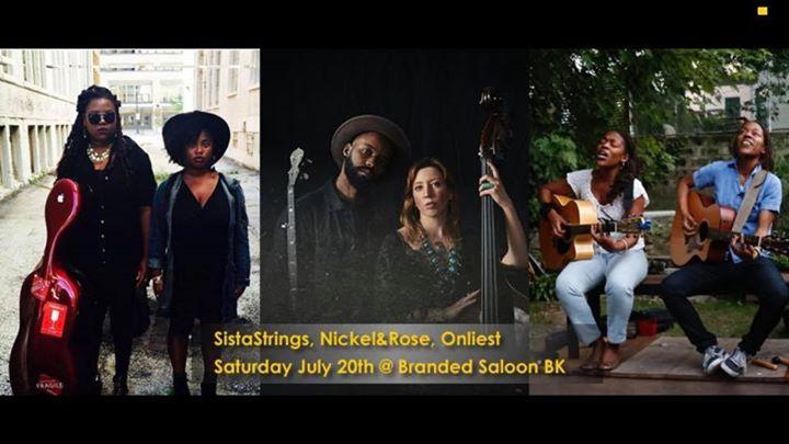 Onliest, Nickel&Rose, SistaStrings in New York le Sa 20. Juli, 2019 19.00 bis 22.00 (After-Work Gay, Hetero Friendly)