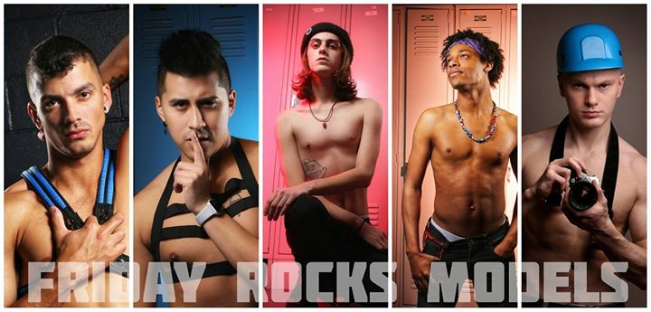 Friday Rocks Models in Albany le Fri, August  9, 2019 from 06:00 pm to 11:00 pm (After-Work Gay)