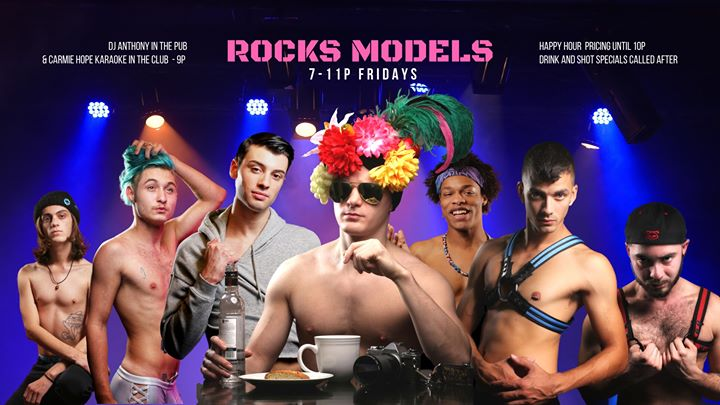 AlbanyFriday Rocks Models2019年 6月27日,18:00(男同性恋 下班后的活动)
