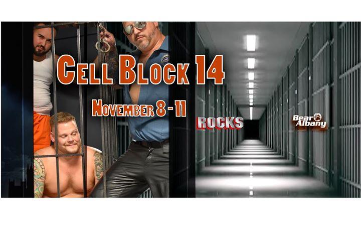 BEAR Albany: Cell Block 14 Weekend à Albany du  8 au 11 novembre 2019 (Clubbing Gay)