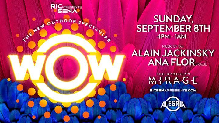 WOW - The Alegria Outdoor Spectacular en Nueva York le dom  8 de septiembre de 2019 16:00-01:00 (Clubbing Gay)