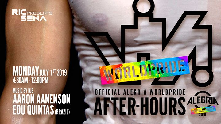VIVA WorldPride 2019 - Official Alegria After-hours en Nueva York le lun  1 de julio de 2019 04:30-12:00 (After Gay)