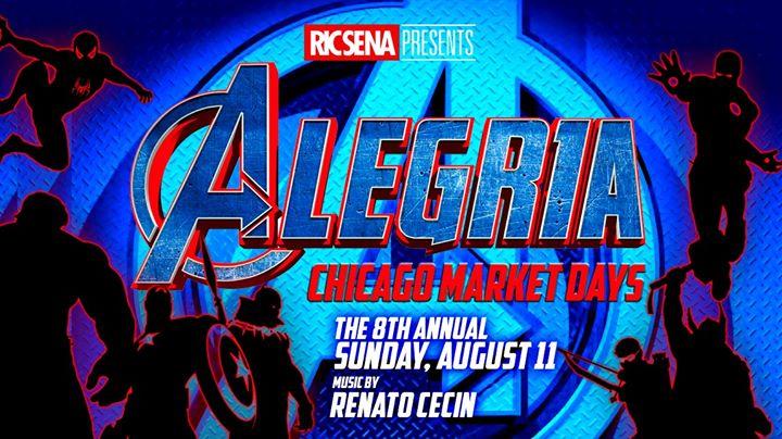 Alegria Chicago Market Days 2019 en Chicago le dom 11 de agosto de 2019 21:00-04:00 (Clubbing Gay)