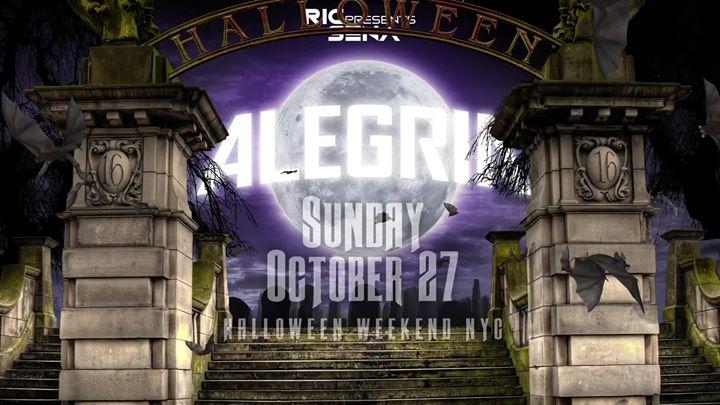 Alegria Halloween 16 en Nueva York le dom 27 de octubre de 2019 23:00-08:00 (Clubbing Gay)