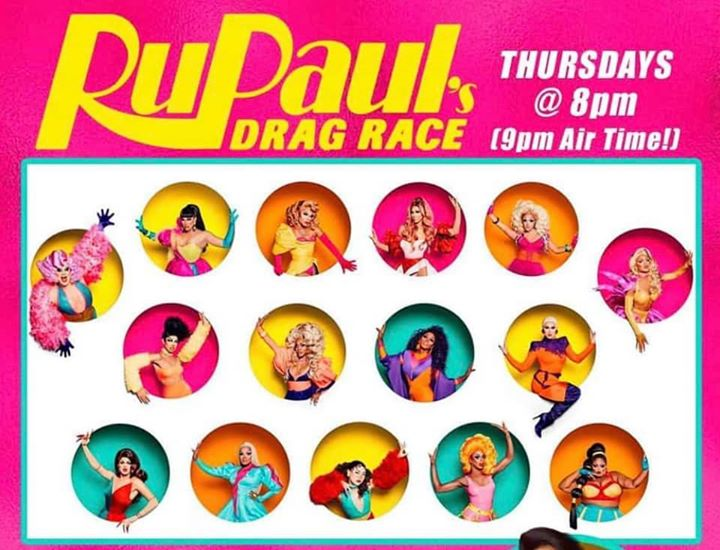 Rockbar's Drag Race Viewing Party! in New York le Thu, April 18, 2019 from 08:00 pm to 11:00 pm (After-Work Gay, Bear)