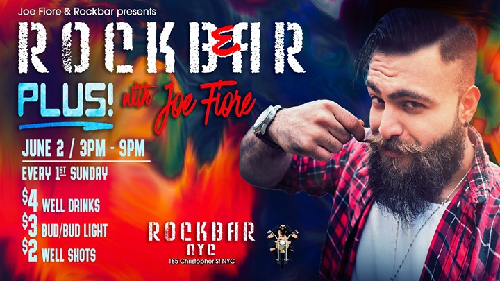 Rockbear PLUS Sunday Beer Blast! in New York le So  2. Juni, 2019 15.00 bis 20.00 (After-Work Gay, Bear)