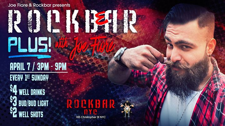 Rockbear PLUS Sunday Beer Blast! in New York le So  5. Mai, 2019 15.00 bis 20.00 (After-Work Gay, Bear)