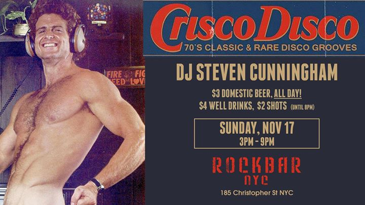 Crisco Disco a New York le dom 17 novembre 2019 15:00-21:00 (After-work Gay, Orso)