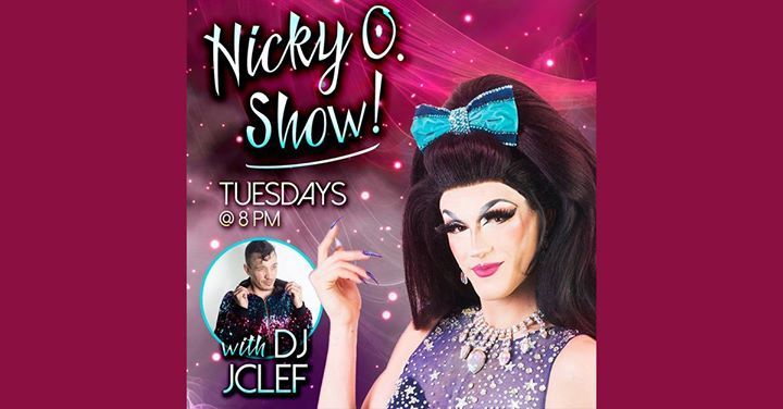 The Nicky O. Show in New York le Di 28. Mai, 2019 20.00 bis 21.00 (After-Work Gay, Bear)