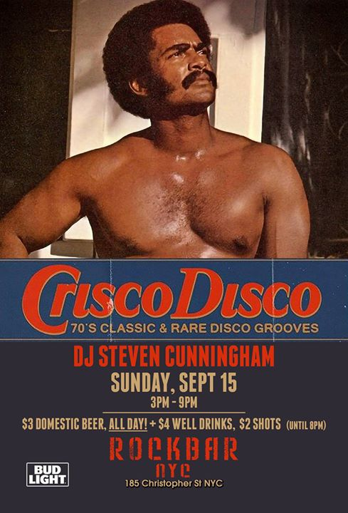 Sunday Beer Blast: Crisco Disco in New York le Sa 21. September, 2019 15.00 bis 21.00 (After-Work Gay, Bear)