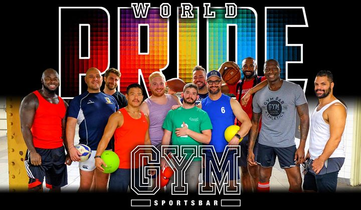 Celebrate WORLD PRIDE at GYM en Nueva York le sáb 15 de junio de 2019 16:00-04:00 (Clubbing Gay)