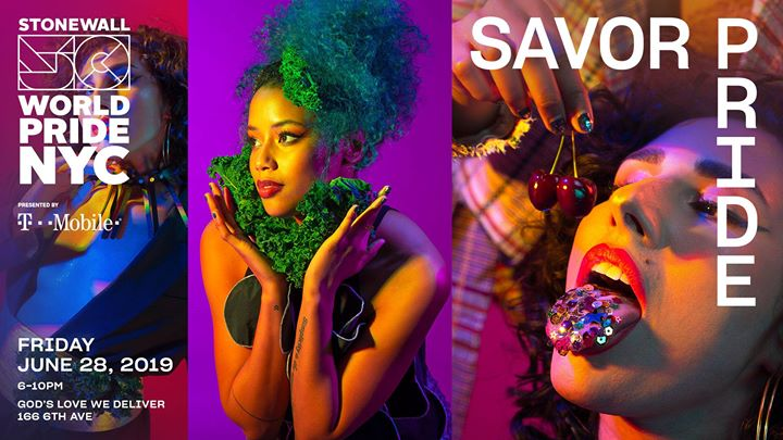 Savor Pride: WorldPride 2019 | Stonewall 50 in New York le Fr 28. Juni, 2019 18.00 bis 22.00 (Fundraising Gay, Lesbierin)