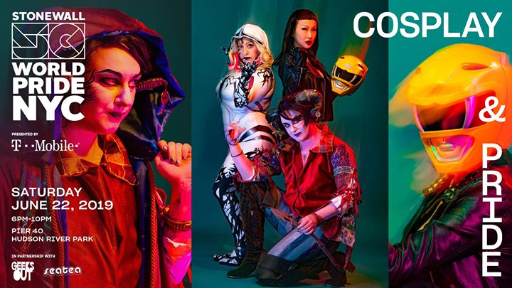 CosPlay & Pride: WorldPride 2019 | Stonewall 50 in New York le Sat, June 22, 2019 from 06:00 pm to 10:00 pm (Cruise Gay, Lesbian)