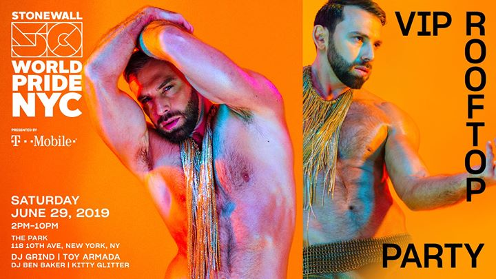 VIP Rooftop Party: WorldPride 2019 | Stonewall 50 in New York le Sat, June 29, 2019 from 02:00 pm to 10:00 pm (Clubbing Gay, Lesbian)