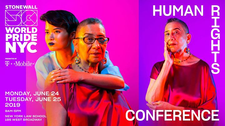 Human Rights Conference: WorldPride 2019 | Stonewall 50 in New York le Mon, June 24, 2019 from 09:00 am to 05:00 pm (Meetings / Discussions Gay, Lesbian)