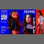 Femme Fatale: WorldPride 2019 | Stonewall 50 in New York le Sun, June 30, 2019 from 04:00 pm to 12:00 am (After-Work Gay, Lesbian)