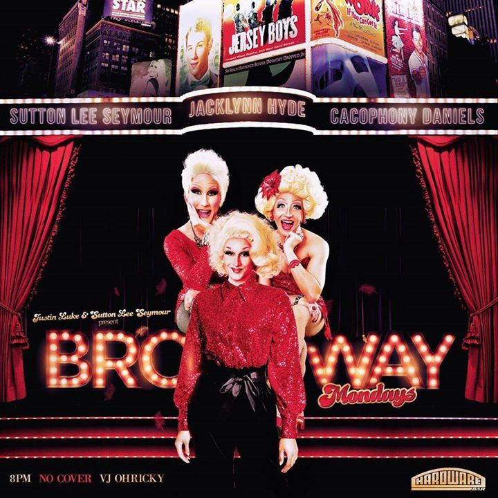 Broadway Mondays a New York le lun 20 gennaio 2020 19:00-23:45 (After-work Gay)