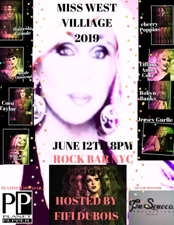 Miss West Village 2019 in New York le Mi 12. Juni, 2019 20.00 Uhr (After-Work Gay)