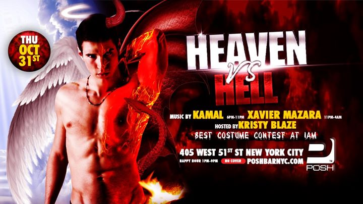 Heaven vs Hell (Halloween Night) in New York le Do 31. Oktober, 2019 13.00 bis 04.00 (Clubbing Gay)