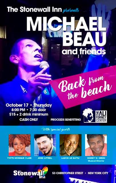 Back from the Beach in New York le Thu, October 17, 2019 from 07:30 pm to 09:30 pm (Show Gay)