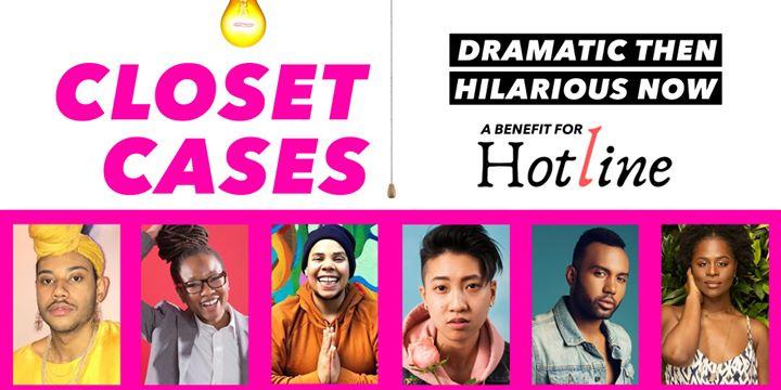 Closet Cases and Hotline Benefit à New York le lun.  4 novembre 2019 de 18h30 à 21h30 (After-Work Gay)